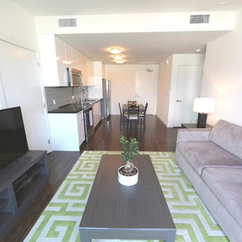 HomeShare - Our current tour unit, for introducing people to the apartments.