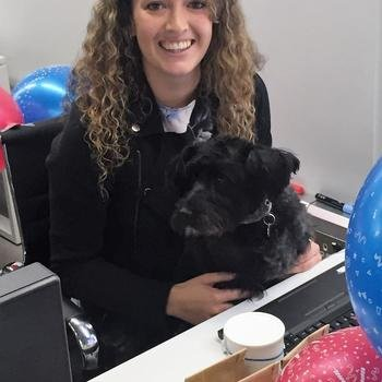Clearscore - Molly the office dog has final say in the recruitment process