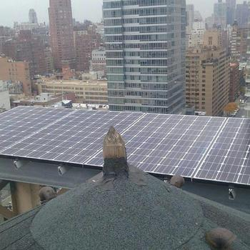 Green Street Solar Power - Hope you're not afraid of heights!
