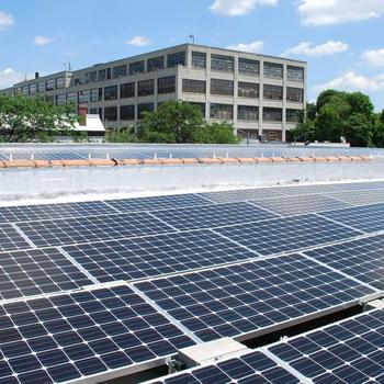 Green Street Solar Power - Commercial install in Queens NY