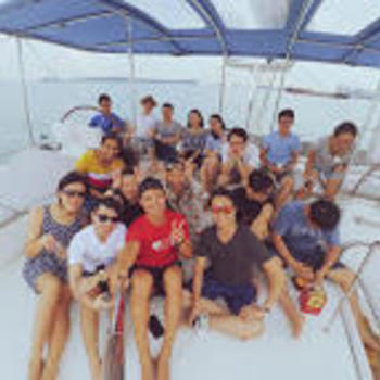 Visenze Pte Ltd - Out on Yacht Celebrating and Chilling out