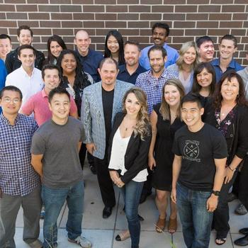 Engagio - August 2016 team photo