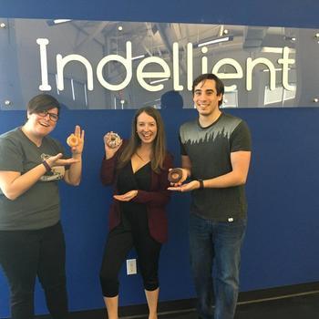 Indellient Inc. - Celebrating Donut Day together!