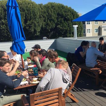 DataFox - Roof deck lunches