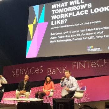 """Workwell - """"What will tomorrow's workplace look like?"""" With the director of Facebook at work and We Work."""