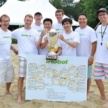 iRobot - And the volleyball champions are...