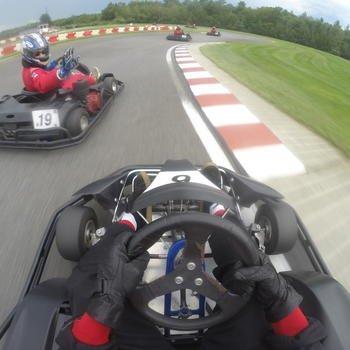 iRobot - iRoboteers tearing up the race track!