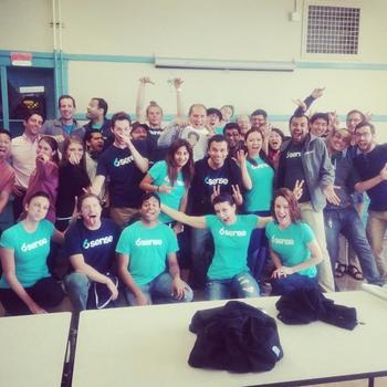 6Sense - 6sense folks volunteering once a quarter at SF public schools