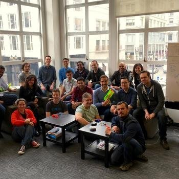 MuleSoft - Some of our engineering team at our San Francisco HQ.