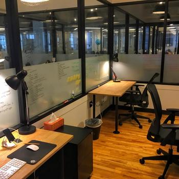 The Palmer Group - Our offices are in a dynamic and energetic WeWork office with room to grow
