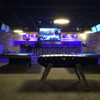 Barracuda Networks - We have an awesome lounge in the office, with games and craft beer