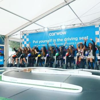 Carwow - Our stand at the annual Goodwood - Festival of Speed