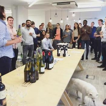 Carwow - Wine and Cheese night - one of our monthly socials