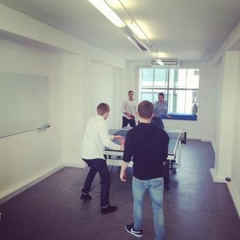 Carwow - Table Tennis tournament in the office