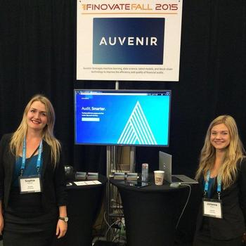 Auvenir - Spot us at events such as Finovate