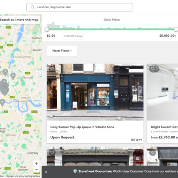 Storefront - Space search engine