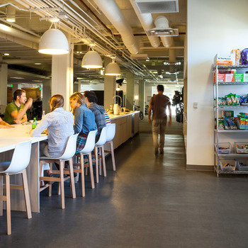 The Meet Group - Our kitchen is stocked with free beverages and organic, healthy snacks (and some unhealthy ones too).