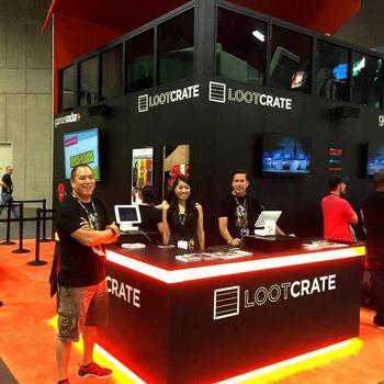 Loot Crate - Loot Crate's Booth at San Diego ComicCon 2016