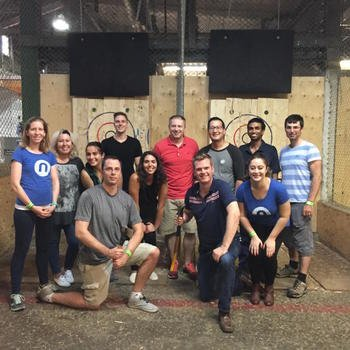 Nudge.ai - Socialized Axe Throwing