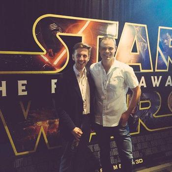 Two Bulls LLC - At the global premier of Star Wars thanks to our friends at Disney