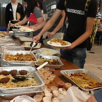 Overbond - We make sure everyone is well fed during our Hackathons