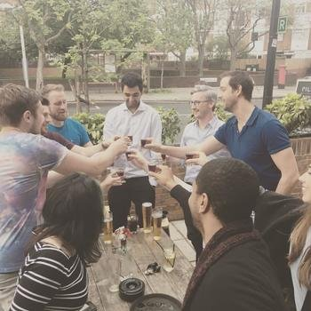 KEYAGENT LIMITED - Regular team drinks! (Our company spirit of choice is Jaeger)