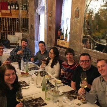 Teckst - Teckst team out for a delicious Italian dinner!