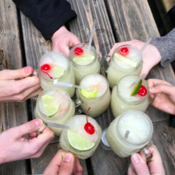 Teckst - Margaritas to celebrate passing another milestone!