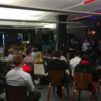 Teckst - Thought leadership is very important at Teckst.  Our team speaking at the Mobile Millennials event at the Fueled office space.
