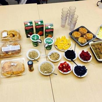 PostBeyond - Sometimes, we treat our employees to a hearty breakfast to power them through the day