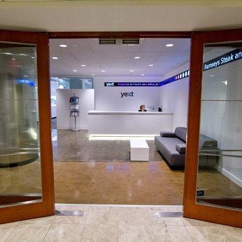 Yext - The entrance is spacious and inviting.