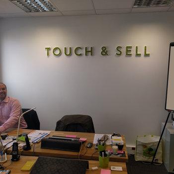 Touch & Sell - Une touche de verdure, appréciée par l'équipe commerciale.