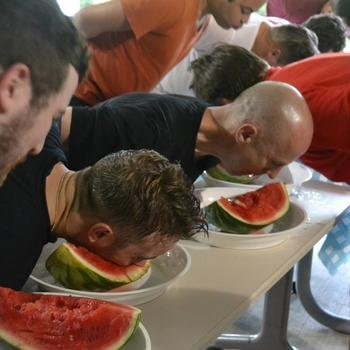 Mitratech - We compete in watermelon eating competitions