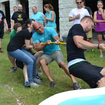 Mitratech - We have field days where we participate in team-bonding activities