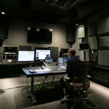 Dolby Laboratories - This is one of our state-of-the-art audio labs.