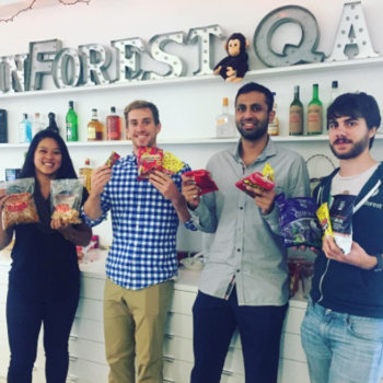 Rainforest QA - Our international team means snacks from around the globe!