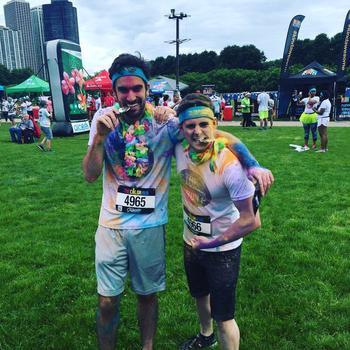 Engineering USA - The Chicago Color Run Tropicolor 2016