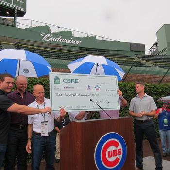 Cbre, Inc. - We show our support to the local community through our fund-raising events