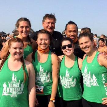 CBRE - We are always game to take on challenges together, such as the Tough Mudder Mud Run!