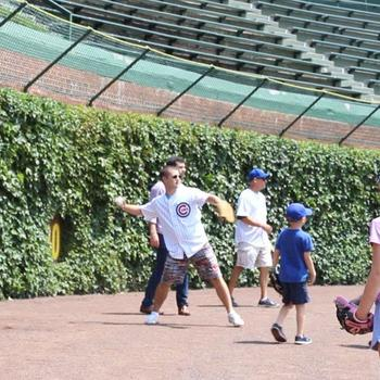 CBRE - We are grateful for having fun field days on the Wrigley's Field