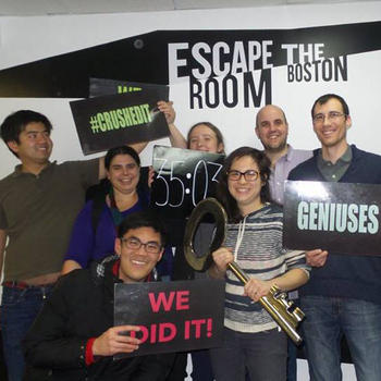 PrepScholar - Sometimes we set records for Escape the Room.
