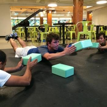 Tradeshift - Wellness Programs including weekly yoga and bootcamp