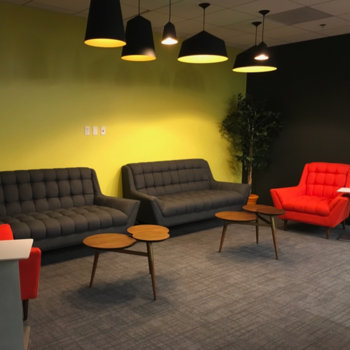 Research Innovations Inc. - Lounge spaces for relaxing