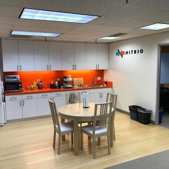 Nitrio - Our in-office kitchen is full of great snacks and drinks.