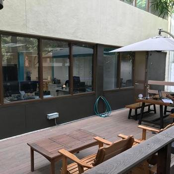 Nitrio - Work outside on our patio anytime
