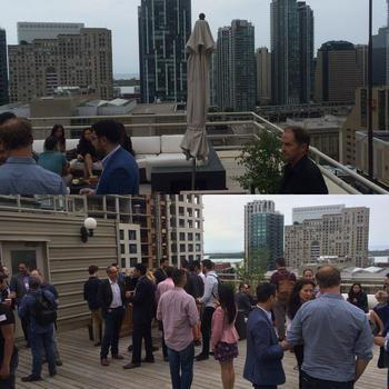 Blanc Labs - We had an amazing launch with a rooftop party