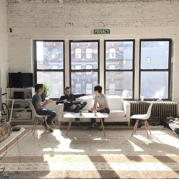 Pay With Privacy, Inc. - Our office is in a well lit, sunny converted art gallery space