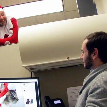 Centage - We have a corporate elf that surprises us during festive seasons!