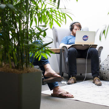 Segment - Tuck away in one of our many office nooks!