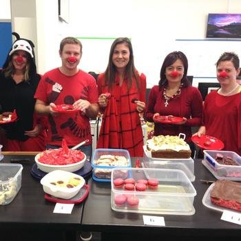 Health Engine - We bake, we eat, we celebrate, and we raise money for good causes.